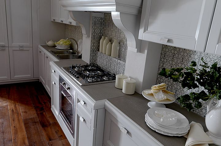 Cucina Country Bianca. Traditional Irish Kitchen Tables. Cucina ...